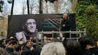 مراسم تشییع پیکر حسین محب اهری با حضور هنرمندان + عکس