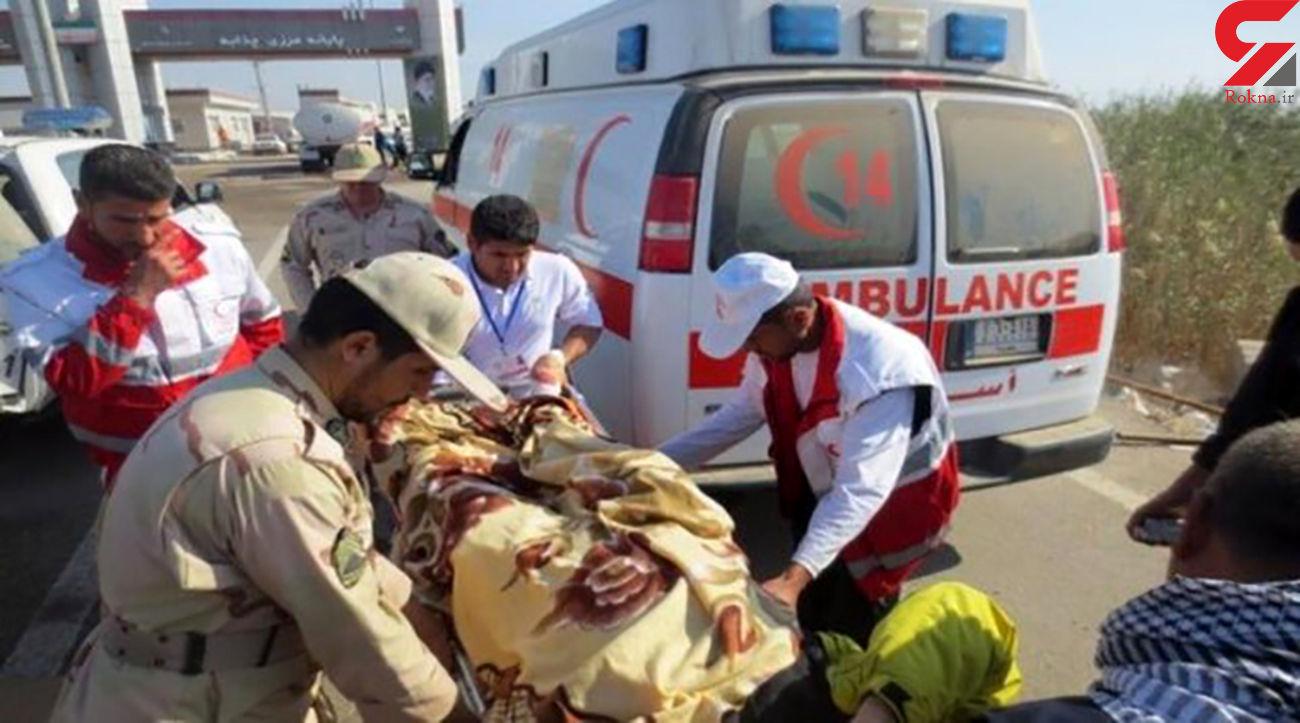 واژگونی صبحگاهی نیسان در شیراز / یک کشته و 11 مصدوم