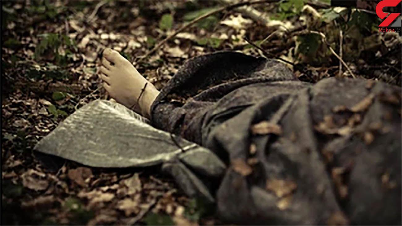 کشف جسد سوخته یک زن  + عکس