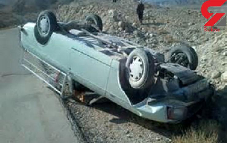 واژگونی خودروها 3 کشته و یک مجروح در پی داشت