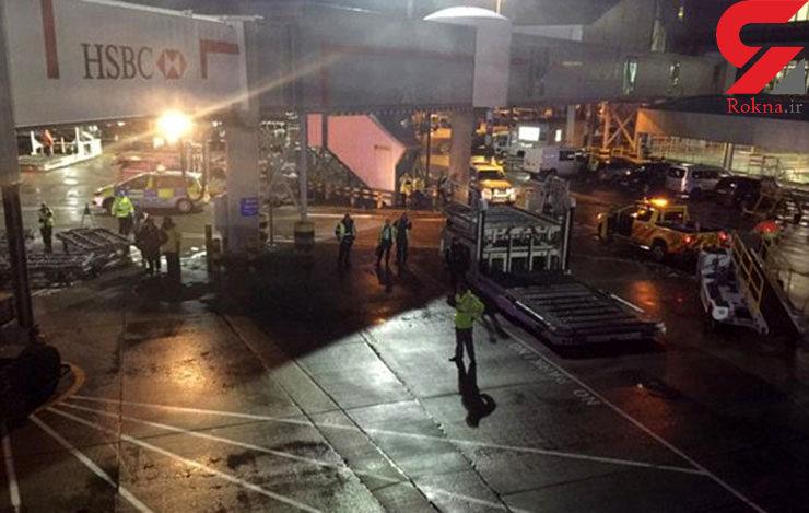 نشت گاز شیمیایی در هواپیما مسافران را بیهوش کرد