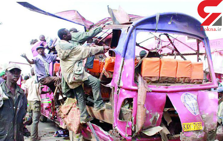 حمله مرگبار به اتوبوسی 6 کشته برجای گذاشت