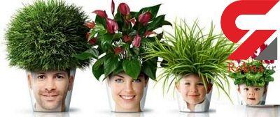 گلدان های مبتکرانه و جالب برای تزیین خانه
