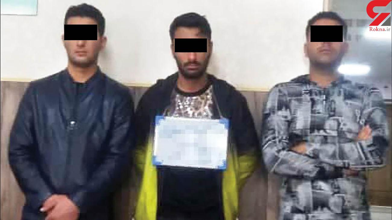 وحید سیاه و بهمن کور دستگیر شدند/ مشهدی ها نفس راحتی کشیدند +عکس