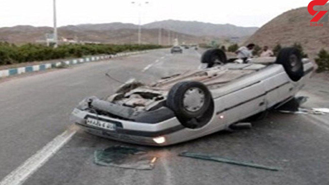3 کشته و 4 زخمیدر تصادف مرگبار جهرم به شیراز