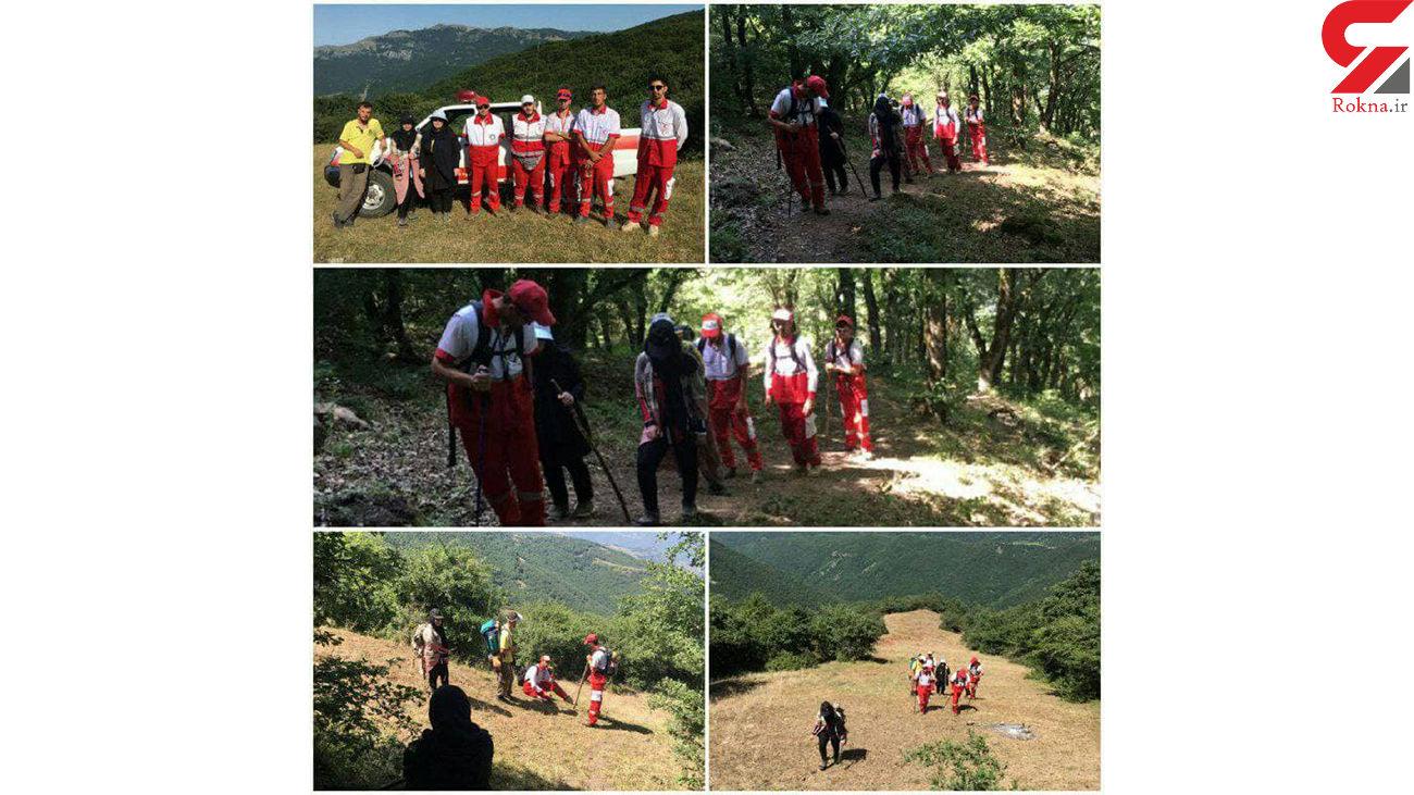 نجات ۳ گمشده در جنگل مشه سویی اردبیل + عکس
