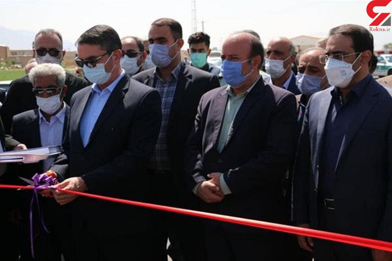 افتتاح محور کزاز- مهاجران به طول 3.4کیلومتر