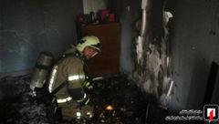 شعله های آتش در امیرآباد شمالی از یک فاجعه خبر داد+ تصاویر