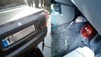 پشت پرده کشته شدن راننده تیبا در تصادف با کرکره مغازه در خزانه بخارایی + فیلم و عکس
