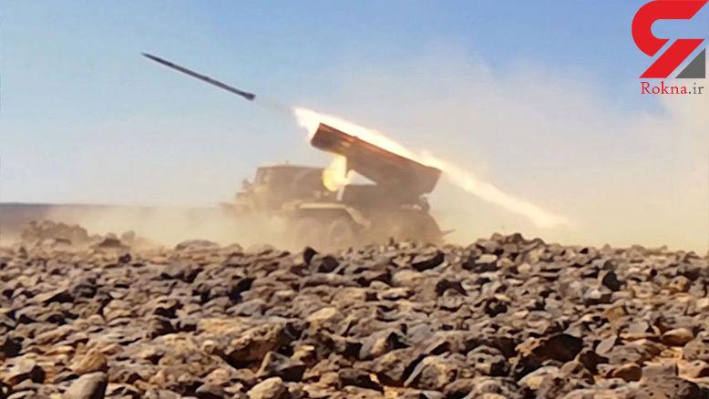 هلاکت 270 تروریست در جنوب سوریه