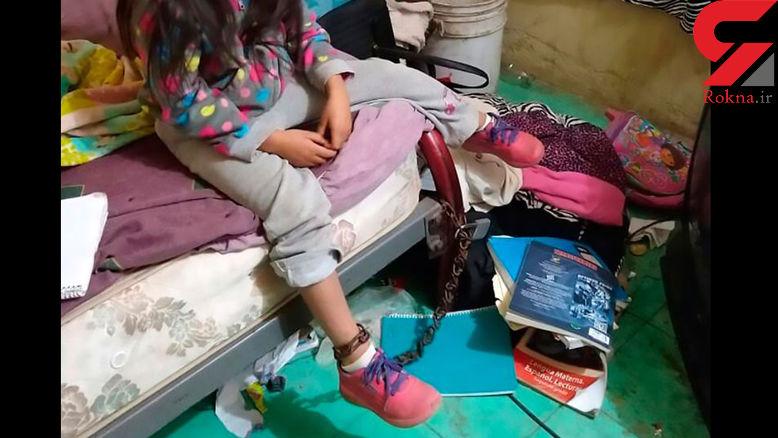 نجات کودک 5 ساله از شکنجه هولناک+عکس