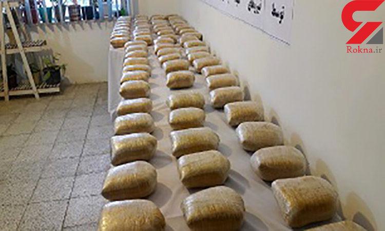 کشف مواد افیونی در عملیات مشترک پلیس خراسان جنوبی و گلستان