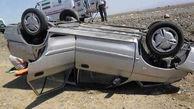 واژگونی یک پراید با 5 مصدوم در جهرم / صبح امروز رخ داد