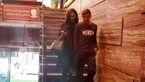 هیاهوی شماره 10 پرسپولیس با خانم بازیگر جوان + فیلم و عکس