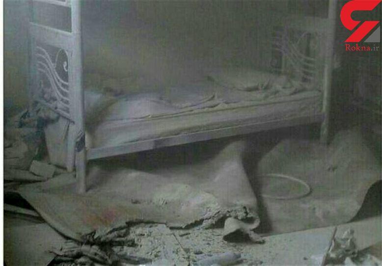 آتش سوزی در بیمارستان خرم آباد + تصاویر