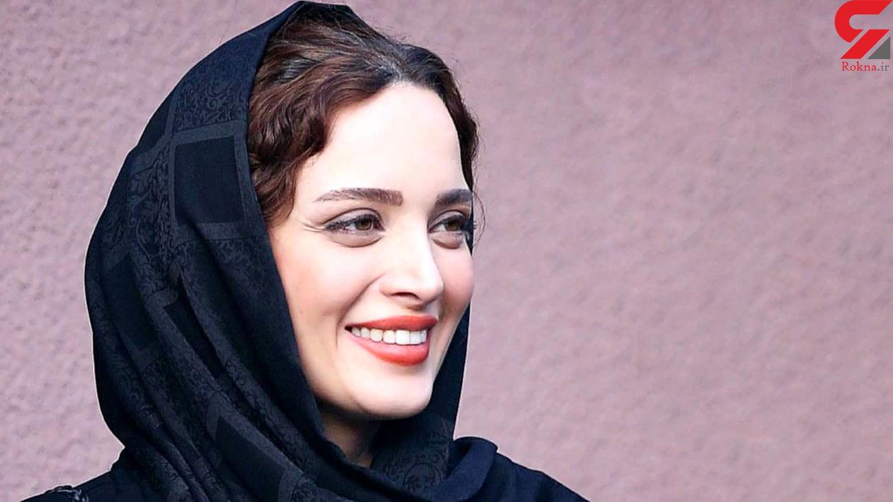 مبارزه بهنوش طباطبایی  با خواهران منصوری در هوای برفی + عکس