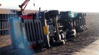 یک کشته در حادثه واژگونی اسکانیا
