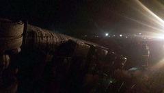 نخستین عکس از واژگونی تانکر حمل سوخت + خبر