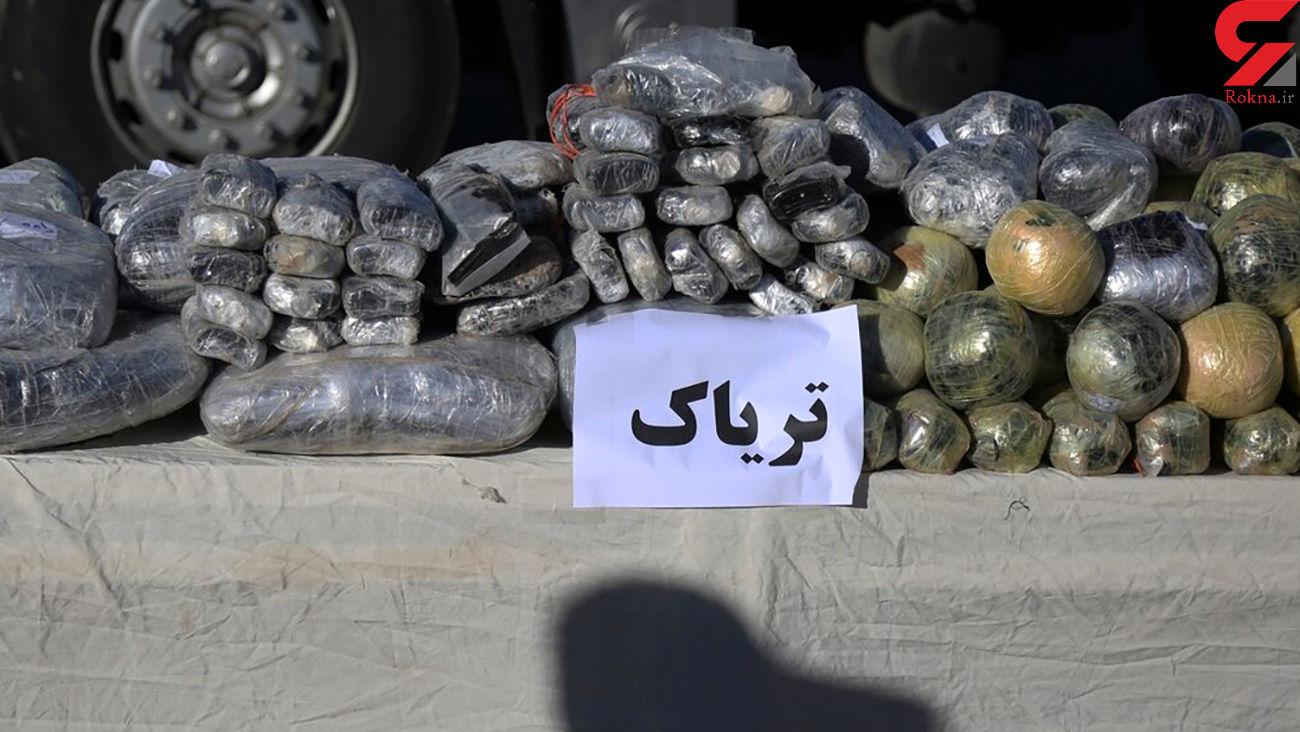 کشف هزار و 313 کیلوگرم مواد مخدر در گلستان