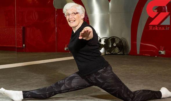 ژیمناست 84 ساله انگلیسی