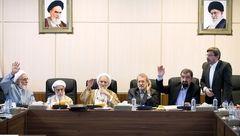 خنده های همیشگی محمود احمدی نژاد در جلسه تشخیص مصلحت نظام / روحانی نبود+عکس