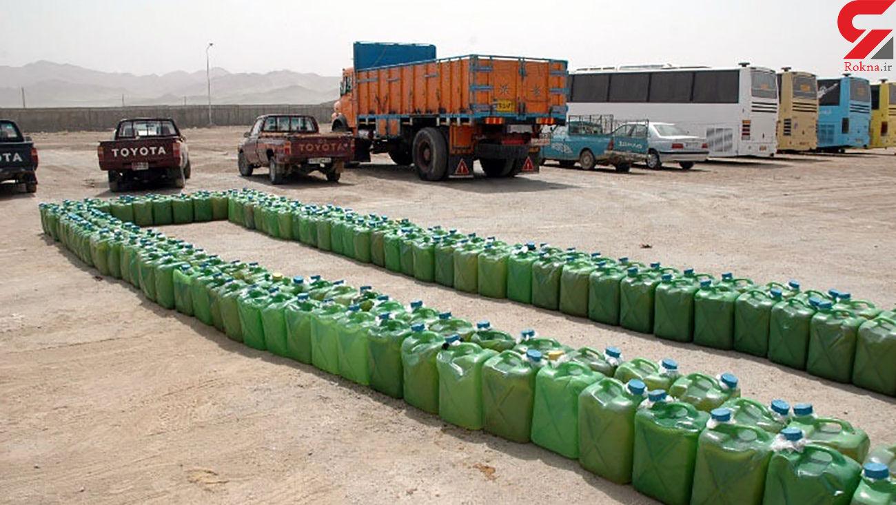 کشف 292 هزار لیتر سوخت قاچاق در سیستان و بلوچستان