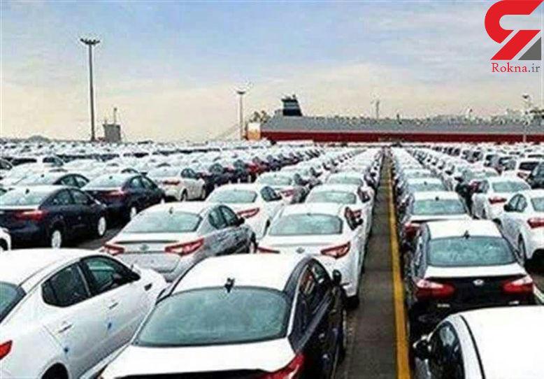 جلوگیری از ترخیص بیش از هزار خودرو در گمرک
