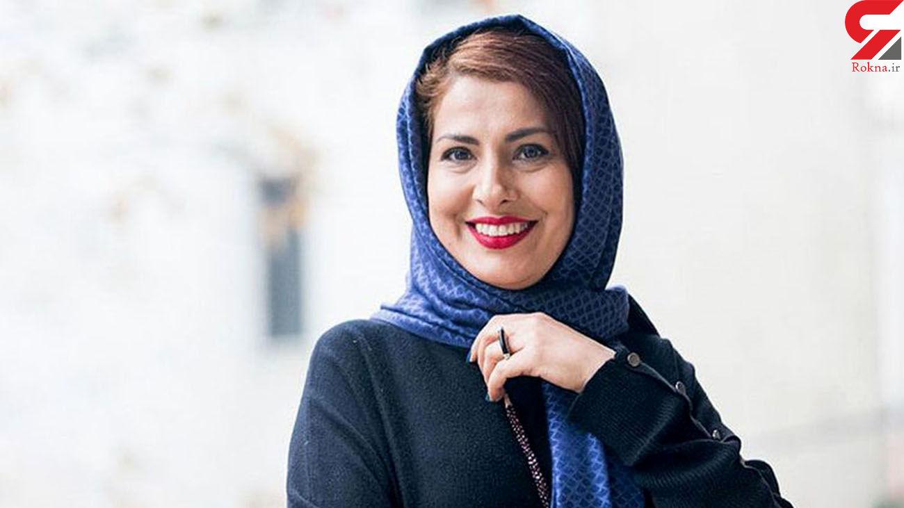 درد ناشی از شیمی درمانی برای خانم بازیگر ایرانی / موهای او در حال ریختن است+ عکس