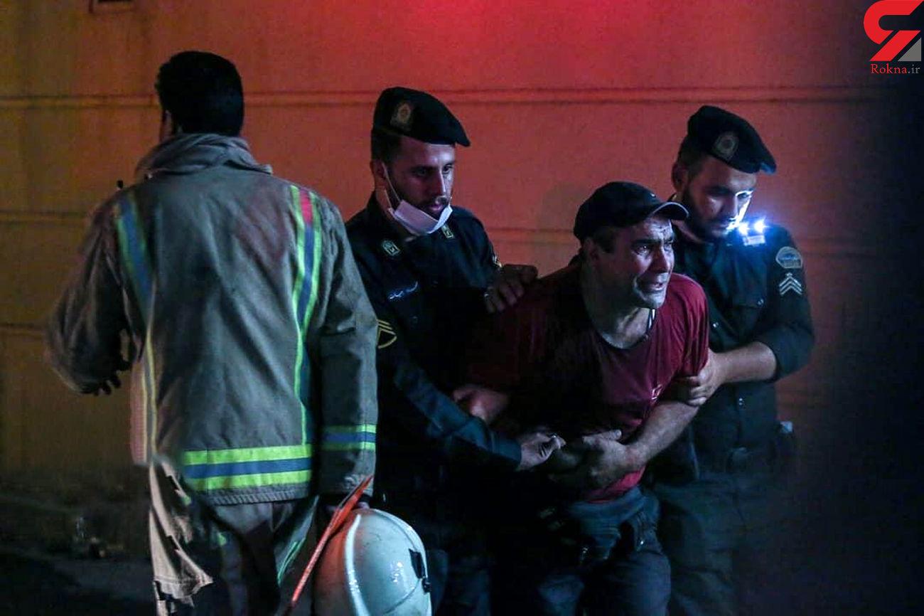 مقصران انفجار کلینیک سینا تجریش مشخص شدند+ فیلم
