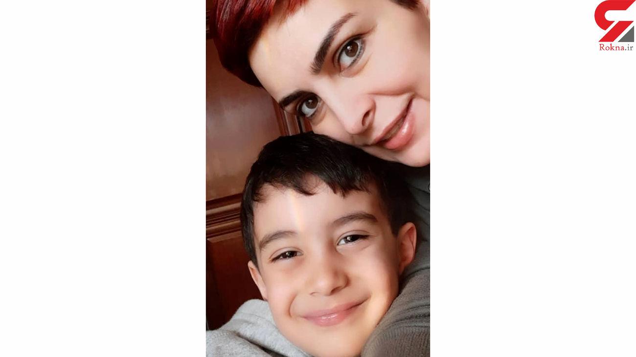 عاشقانه ماه چهره خلیلی و پسرش در رنگین کمان + عکس