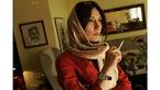 ژست متفاوت هدیه تهرانی با سیگار در دست +عکس