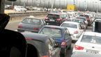 ترافیک صبحگاهی در آزادراه کرج - تهران