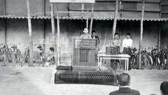 عکس 14 سالگی محمدجواد ظریف در مدرسه