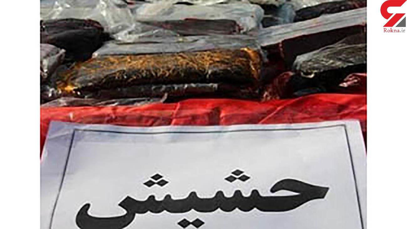 دستگیری یک  قاچاقچی حشیش در داراب