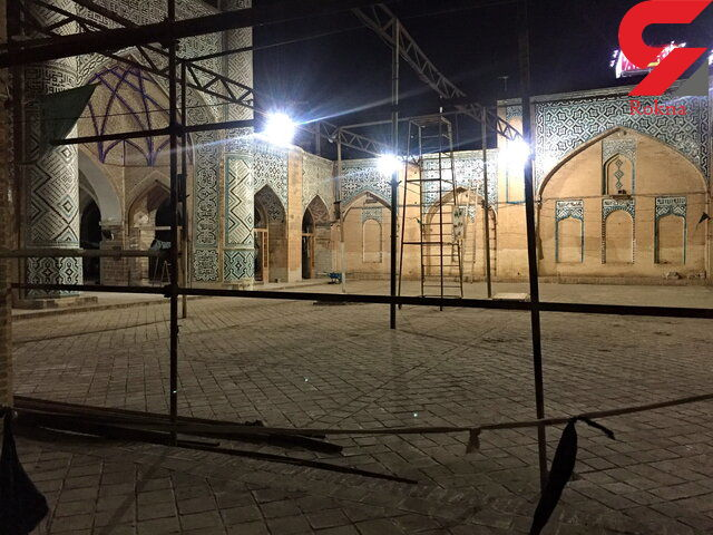 مسجد دزفول کج شد ! + عکس
