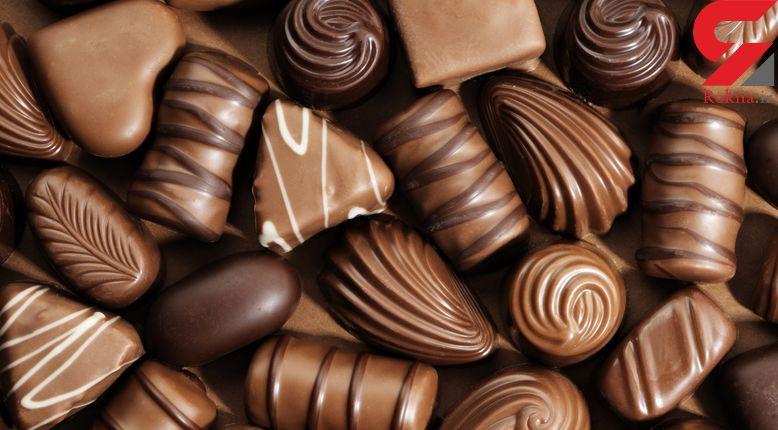 مراحل هیجان انگیز ساخت شکلات+فیلم