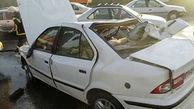 2 تن زنده زنده در جاده کازرون سوختند