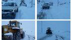 برف شدید در مازندران / هراز و کندوان بسته باقی ماند