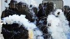 خشونت پلیس فرانسه علیه کارگران معترض