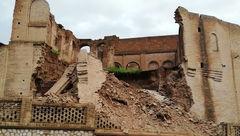 یک خانه تاریخی و ثبت ملی در دزفول ریزش کرد
