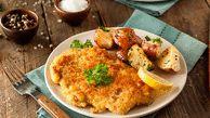شنیسل مرغ خانگی سالم ترین و فوری ترین غذا