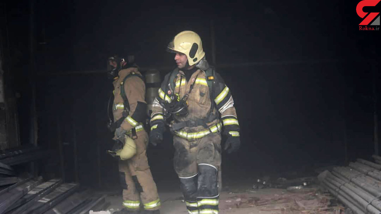 مصدوم شدن ۶ نفر در آتش سوزی کشتارگاه مرغ در تبریز
