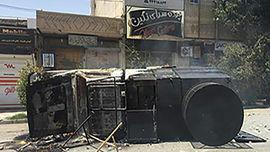 2 کشته و 48 زخمی در پی حوادث کازرون +عکس