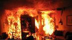 زنده زنده سوختن زن کرجی در شعله های آتش
