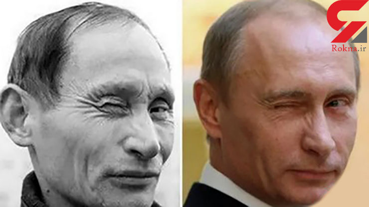 شباهت عجیب این مرد به رییس جمهور پوتین +تصاویر