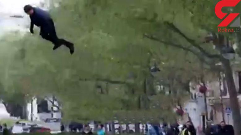 صحنه هیجان انگیز بازی تام کروز  در فیلم جدیدش بدون بدلکار + ویدیو