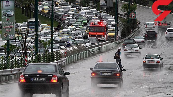 ورود سامانه بارشی در 48 ساعت آینده به تهران