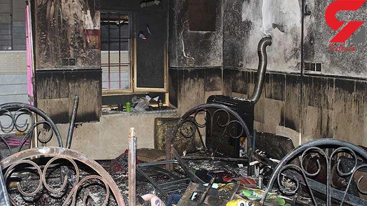 وحشت از صدای انفجار در اتوبان زین الدین / علت چه بود؟