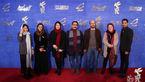 علی مصفا و دیگر بازیگران «روزهای نارنجی» روی فرش قرمز+تصاویر