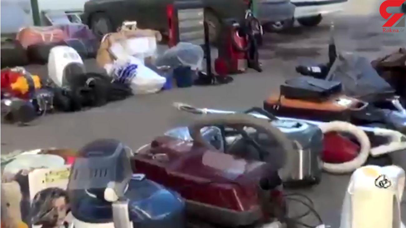 بازداشت مرد خارجی که دزد ویلاهای لاکچری تهران بود + فیلم